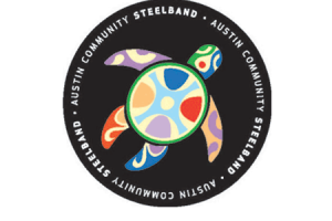 austin steelband sticker