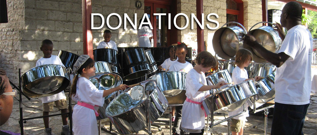Donations for Austin Community Steelband